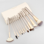Winson-eseller 12Pcs Makeup Brush Kits Professional Synthetic Cosmetic Makeup Brush Foundation Eyeshadow Eyeliner Brush Kits pinceis maquiagem
