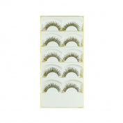 False Eyelashes Comfort Wear Light Weights Set 5 Pairs