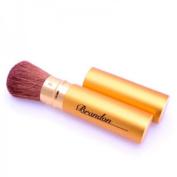 Brandon Gold Retractable Large Blush Brush