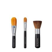 VEGAN LOVE Total Coverage Face Ultimate Concealer Brush Trio, Handi Flat Top
