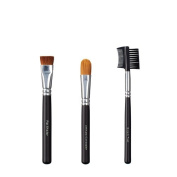 VEGAN LOVE Flat Shader Ultimate Concealer Brush Trio, Groom Tool