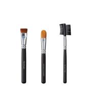 VEGAN LOVE Flat Shader Ultimate Concealer Brush Trio, Groom Tool