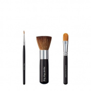 VEGAN LOVE Thin Liner Handi Flat Top Ultimate Concealer Brush Trio