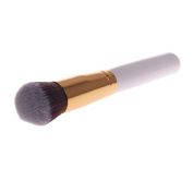 Gold Tube Synthetic White Large Makeup Blending Cosmetic Concealer Brush 01