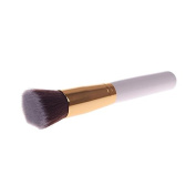 Gold Tube Synthetic White Large Makeup Blending Cosmetic Concealer Brush 02
