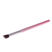 Silver Tube Synthetic Pink Small Makeup Blending Concealer Cosmetic Brush 03