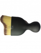 Single colour (3) wave contour brush brush glass powder brush arc