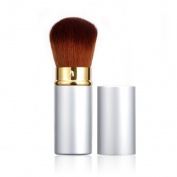 Rosabeauty New Design 1Pcs MIni Soft Makeup Brush Retractable Pro Foundation Cosmetic Blusher Face Powder Brushes Beauty Tools