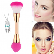 1 PCS Dual End Double Head Blending Brush Kit Makeup Powder Puff Blush Brush