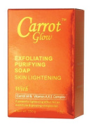 Carrot Glow Exfoliating Skin Lightening Soap 210ml by Carrot Glow