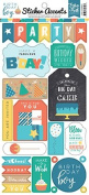 Echo Park Birthday Boy 6X13 Sticker Sheet