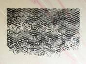 UMR-Design ST-094 Honeycomb Airbrushstencil Step by Step Size S 5cm x 7cm