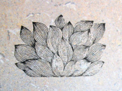 UMR-Design ST-082 Leaves Airbrushstencil Step by Step Size S 4cm x 7cm