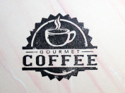UMR-Design ST-016 Gourmet coffee Airbrushstencil Step by Step Size S 5cm x 5.5cm