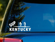 T1146 SUP Kentucky Paddleboard Decal - 7.6cm x 15cm - Easy to apply- Instructions Included - Premium 6 Year Vinyl