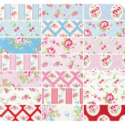 FreeSpirit Fabrics Rambling Rose-Tanya Whelan 25cm x 25cm Charm Pack 42Pc