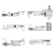 Serger Presser Foot 6pcs Serger Presser Foot Accessory for Singer 14CG754 14SH654 14U555 14U557 Consew 14TU 14hd854 14sh754 Juki Overlock Machine