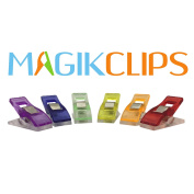 Magik Clips - Sewing Clips for Quilting and Crafts - 100 Pack Multicoloured