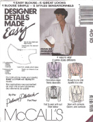 McCall's # 4618 Sewing Pattern Size