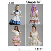 Simplicity Creative Sewing Pattern 8316 - Misses' Heart Aprons, A