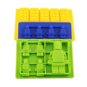 Silicone Ice Tray Lego Blocks Bricks Fondant Cake/chocolate Silicone Mould
