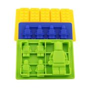 Silicone Ice Tray Lego Blocks Bricks Fondant Cake/chocolate Silicone Mould