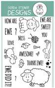 How are Ewe. Clear Stamp Set 10cm x 15cm