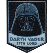 Star Wars Official Darth Vader 'Sith Lord' Force Lucasfilm Iron On Patch