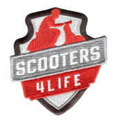 Scooters 4 Life Shirt Patch 8cm - Sexy Patches - Sexy Girl - Hot Girl