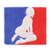 Major League Sexy Girl Shirt Patch 8.5cm - Sexy Patches - Sexy Girl - Hot Girl