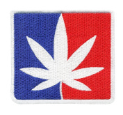 Major League Weed Shirt Patch 8.5cm - Weed Patches -