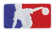 Major League Bowling Shirt Patch 9.5cm - Bowling Ball - Bowler - Team Patches - League Patches