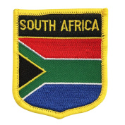 South Africa Flag Emblem Badge Crest Embroidered Patch Iron-On Sew-On