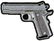 1911 PISTOL .45 PATCH - Colour - Veteran Owned Business.