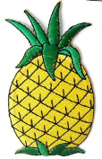 Pineapple DIY Embroidered Sew Iron on Patch