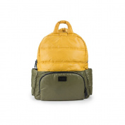 7AM Enfant Brooklyn Bag, Army/Mustard