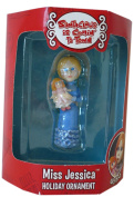 Santa Claus is Comin' to Town MISS JESSICA 7.6cm Figure Holiday Christmas Tree Ornament