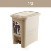 Living Room Thicker Large Trash Cans Fashion Creative Bathroom Plastic Trash