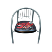 Chair Backrest Metal Cars Grey grey