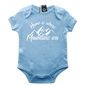 Home is where Mountains Are Baby Grow PT493