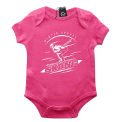 Winter Sports Skiing Baby Grow PT491