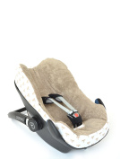 Glorious Lou Terry Towelling for Maxi Cosi Pebble - Made from 100% Cotton - Collection Car Seat Cover - Fox
