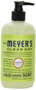 Mrs Meyers Hand Soap Lemon Verbena 12.5 Ounce Pump (370ml)