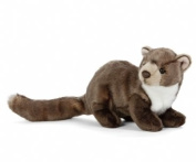 Pine Marten Plush Soft Toy by Living Nature. 25cm. An407