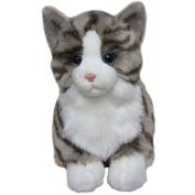 Tabby Cat Soft Toy 30cm