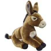 Brown Donkey Soft Toy 30cm