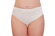 BaiBa Comfortable Cotton Maternity Briefs / Knickers in natural white and black, Sizes 14-28
