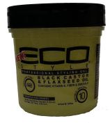 Eco Styler Black Castor & Flaxseed Oil Gel 470ml