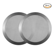 Almondcy Coffee Metal Filter 2 Pack - High Quality Stainless Steel Filter For AeroPress Coffee Maker