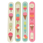 Set Of 4 Ice Cream Nail Files